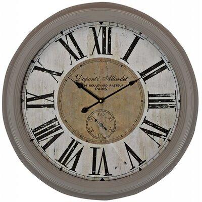 ChâteauChic Script 61 cm Wall Clock