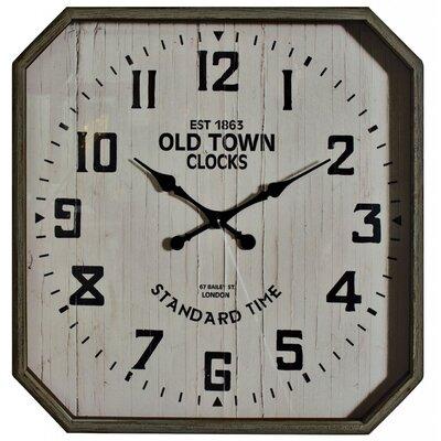 ChâteauChic Old Town Hexagonal Wall Clock