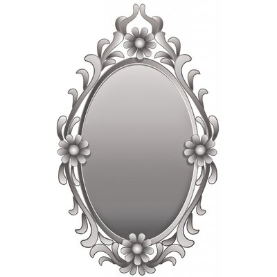 ChâteauChic Flowers Oval Wall Mirror