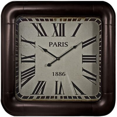 Château Chic France 1886 Square Wall Clock