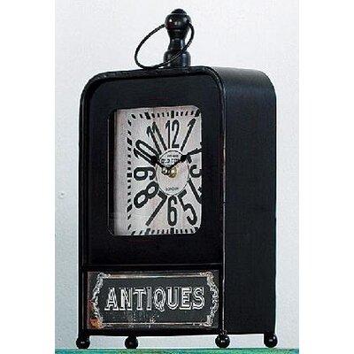 ChâteauChic Antiquités 34cm Grandfather Clock Set