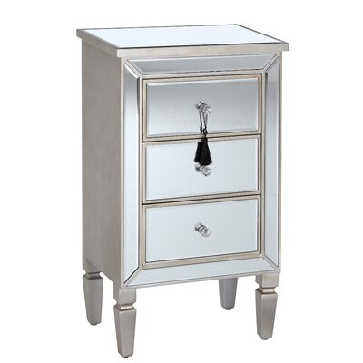 Château Chic Inmodernico 3 Drawer Chest of Drawers