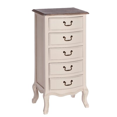 ChâteauChic Ilamore 5 Drawer Chest of Drawers