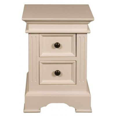 Château Chic Mortage 2 Drawer Bedside Table