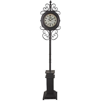 ChâteauChic Ornate 208.5 cm Floor Clock