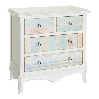 Château Chic Kindlykindle 4 Drawer Chest of Drawers