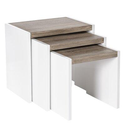 ChâteauChic Il Modernico 3 Piece Nesting Tables