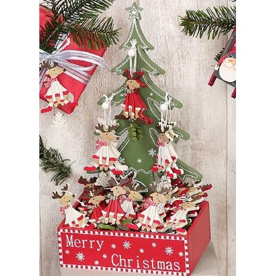 ChâteauChic 24 Piece Funny Deer Tree Display Set
