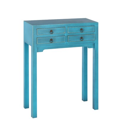 Château Chic 4 Drawer Console Table
