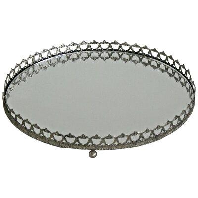 Vintage Boulevard Charlotte Circular Mirror Tray