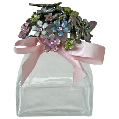 Vintage Boulevard Maddie Decorative Flowers and Butterflies Perfume Bottle