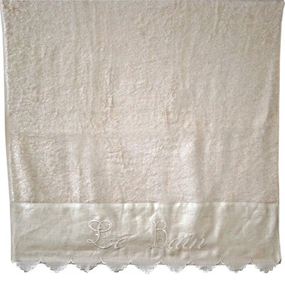 "Vintage Boulevard Lillian Cotton ""Le Bain"" Bath Towel"