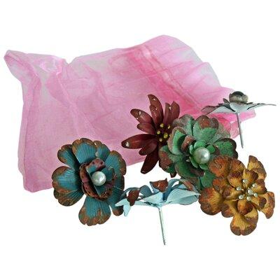 Vintage Boulevard 6 Piece Fiona Flower Pins Set