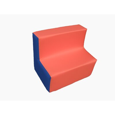 Wrigglebox Playtime Block Sofa in Orange/Blue