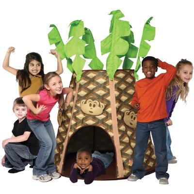 Wrigglebox Monkey Palmz Hut Play Tent