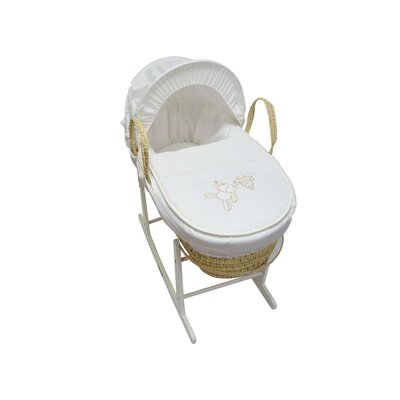 Wrigglebox Handle Me with Care Moses Basket