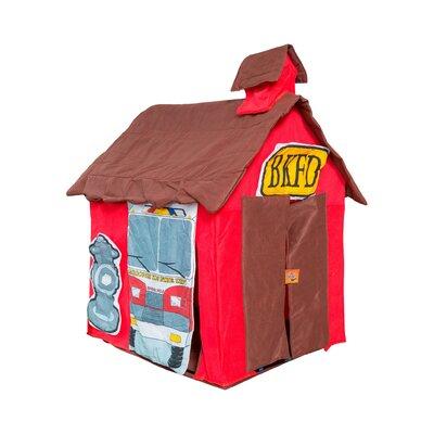 Wrigglebox Kids Fire Station House Playhouse