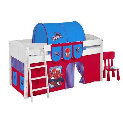 Wrigglebox Spider-Man European Single Mid Sleeper Bed