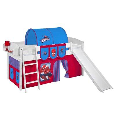 Wrigglebox Ida Spider-Man European Single Mid Sleeper Bed
