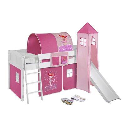 Wrigglebox Princess European Single Mid Sleeper Bed