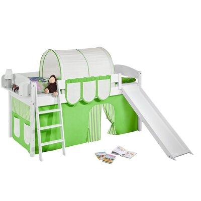 Wrigglebox European Single Mid Sleeper Bed