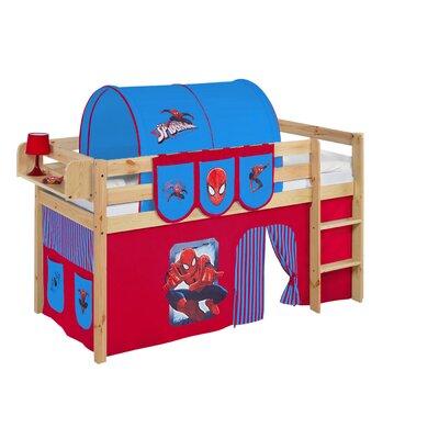 Wrigglebox Jelle Spider-Man Mid Sleeper Bed