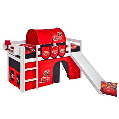 Wrigglebox Jelle Disney Cars Mid Sleeper Bed