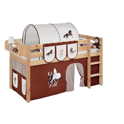 Wrigglebox Jelle Horses Mid Sleeper Bed