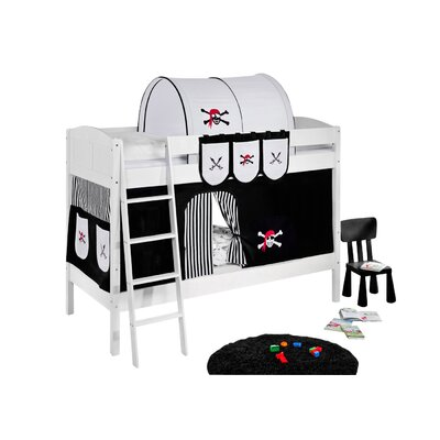 Wrigglebox Pirate European Single Bunk Bed