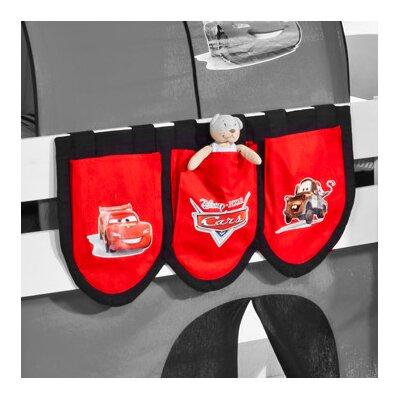Wrigglebox Disney Cars Bunk Bed Pocket