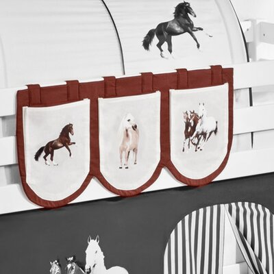 Wrigglebox Horses Bunk Bed Pocket