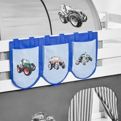 Wrigglebox Tractor Bunk Bed Pocket