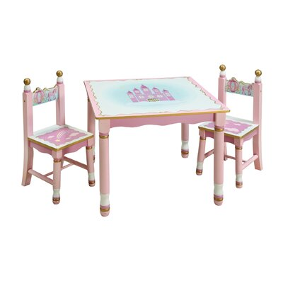 Wrigglebox Queen Children's 3 Piece Table and Chair Set