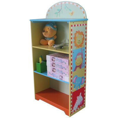 Wrigglebox Animal Trek Children's 75cm Bookcase