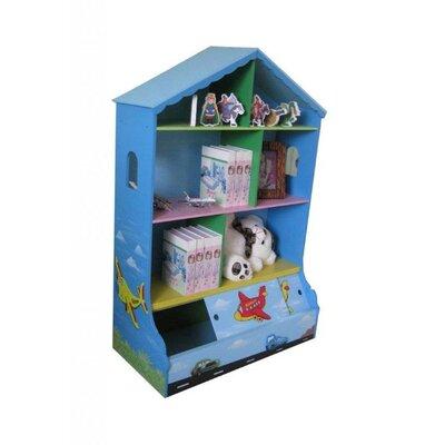 Wrigglebox Travel Children's 83cm Bookcase