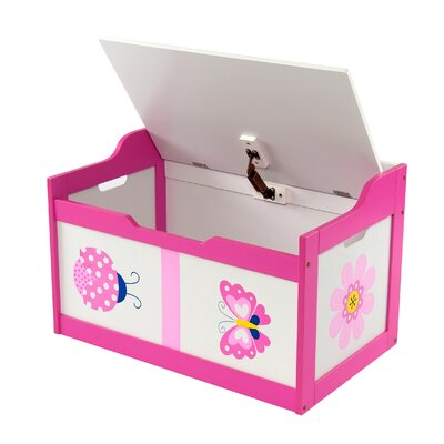 Wrigglebox Garden Friends Toy Box
