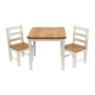 Wrigglebox Nadia Children's 3 Piece Table and Chair Set
