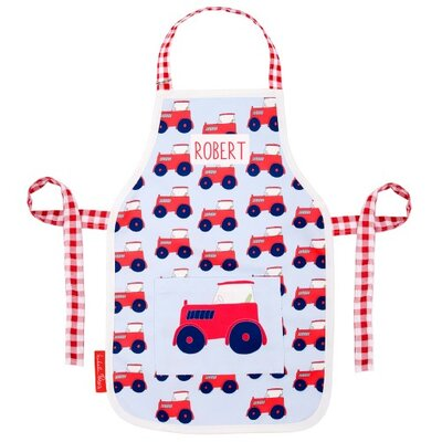 Wrigglebox Clynagh Tractor Kids Apron