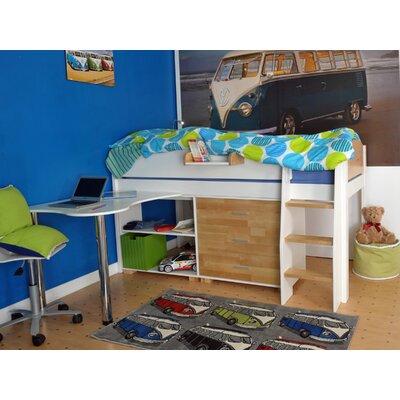 Wrigglebox Norfolk Mid Sleeper Bed with Storage