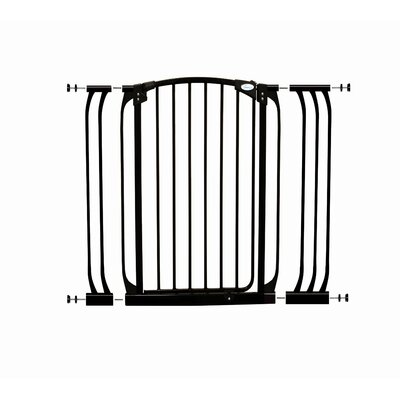 Wrigglebox Extra-Tall Swing Close Security Gate with Extensions