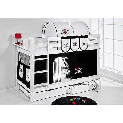 Wrigglebox Belle Pirate Bunk Bed with Storage