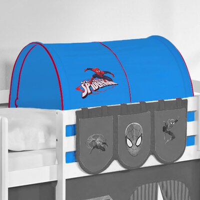 Wrigglebox Spiderman Bunk Bed Tunnel