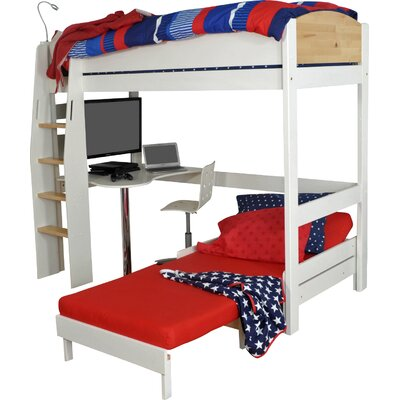 Wrigglebox Norfolk Single High Sleeper Bed