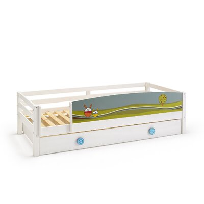 Wrigglebox Papallona Single Captain Bed with Trundle