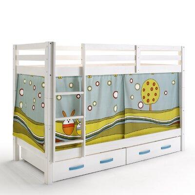 Wrigglebox Papallona Single Bunk Bed with Storage