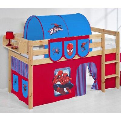 Wrigglebox Belle Spiderman European Single Mid Sleeper Bed