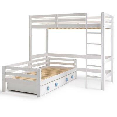 Wrigglebox Papallona Single High Sleeper Bed with Storage