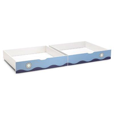 Wrigglebox Papallona 2 Piece Underbed Storage Drawer Set