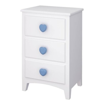 Wrigglebox Aurora 3 Drawer Bedside Table