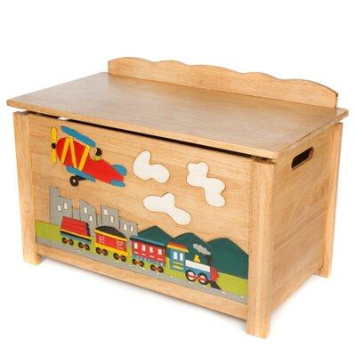 Wrigglebox Train Toy Box
